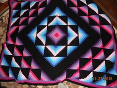Amish Star - Crochet creation by Charlotte Huffman