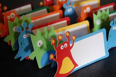 Monster Place Cards Monster Seating Cards Monster by GiggleBees, $12.00
