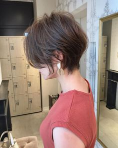 72 Stylish Short Hairstyles and Haircuts for Girls of All Ages December 2019 – frisuren kurze haare Asian Short Hair, Girl Short Hair, Short Hair Cuts, Hair Girls, Latest Short Hairstyles, Girls Short Haircuts, Hairstyles 2018, Girl Hairstyles, Shot Hair Styles