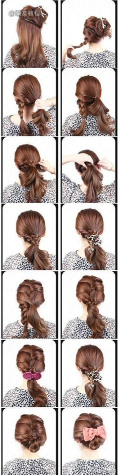 The Triple Braid hairstyle tutorial  -girl hair styles