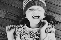 i can hear her laugh:)