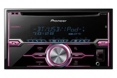 Pioneer® - Double DIN CD/MP3 Receiver with MIXTRAX, Bluetooth, Siri Eyes Free, USB Playback, Pandora and Android Music Support