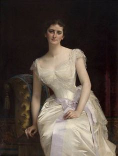 Mary Victoria Leiter (1870–1906), Lady Curzon    Alexandre Cabanel (1823–1889)    National Trust, Kedleston Hall and Eastern Museum