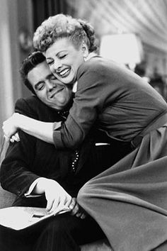 LUCY AND RICKY RICARDO   I Love Lucy  Despite all her wacky schemes and his bilingual bursts of exasperation, part of what viewers have responded to for more than 50 years is that these two people — characters and stars (Lucille Ball and Desi Arnaz) — loved each other. He was hot-tempered and she was loony: So what? Isn't everybody? —Marc Bernardin  Comments 4 | Add comment  Image Credit: Everett Collection