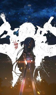 Kirito and Asuna and Yui, Sword Art Online Manga Anime, Film Anime, Otaku Anime, Manga Girl, Anime Girls, Sword Art Online Asuna, Wallpaper Animes, Animes Wallpapers, Online Anime