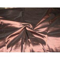 SILK TAFFETA FABRIC 54~Cocoa colour