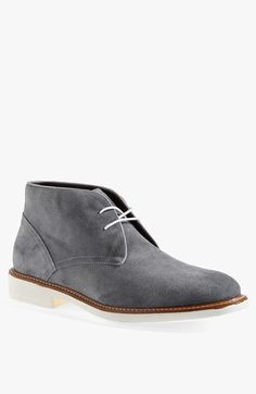 Wallin & Bros. 'Roseto' Suede Chukka Boot (Men). Swanky Italian suede and a white sole elevate the attitude of a classic chukka.