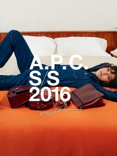 Fashion Copious - Preview Steffy Argelich for A.P.C. SS 2016 Campaign by Collier Schorr