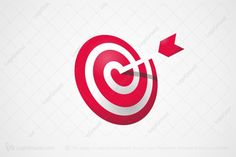 Logo for sale: Bullseye Logo by ajleroux, uploaded on Cool, spiral target logo with an arrow in the center. Woodworking Logo, Spiral, Logo Design, Branding, Cool Stuff, Logos, Vintage, Braces, Arrows