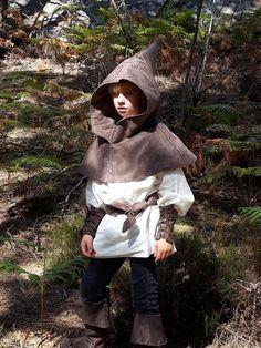 Robin des bois chapeau peter pan chasseur GIRL COSTUME robe femmes hommes enfants moyen âge