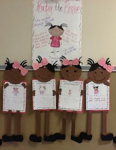 Ruby Bridges Lapbook and writing craftivity....Great unit for Black History Month