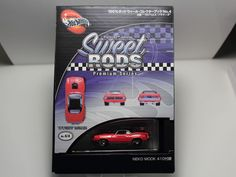 HOT WHEELS SWEET RODS PREMIUM SERIES 70 PLYMOUTH BARRACUDA JAPAN COLLECTOR'S BOO #HotWheels #Plymouth