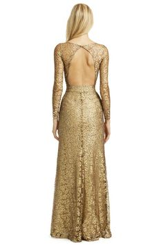 Gold Cassia Gown by Issa - Inspiration