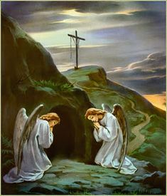 Angels at the tomb: Why do you seek the living one among the dead? (Luke 24:1-12)
