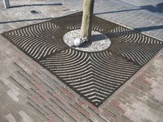 cast iron tree grate - AXURBAIN