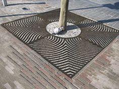 cast iron tree grate - AXURBAIN