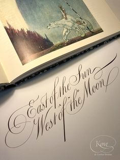 A collection of my calligraphy and lettering pieces. Chris Jordan, East Of The Sun, Copperplate Calligraphy, Cover Pics, Cursive, Quotations, English, Pure Products, Lettering