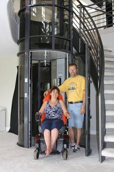 Vision 550 Pneumatic Residential Elevator