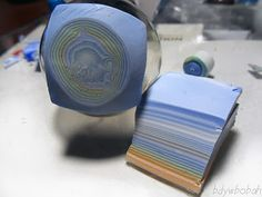 Faux agate #Polymer #Clay #Tutorials