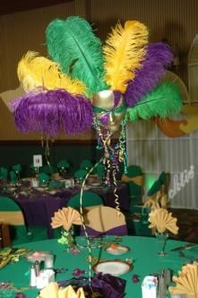 Elegant Mardi Gras Table Centerpieces | ... Photos | Beautiful & festive Mardi Gras Carnivale table decorations Mardi Gras Decorations, Ball Decorations, Centerpiece Decorations, Decoration Table, Table Centerpieces, Mardi Gras Outfits, Mardi Gras Costumes, Mardi Gras Wreath, Mardi Gras Party