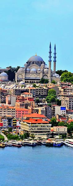 Trains and Cars, Istanbul, Turkey - The tower offers some of the most striking views of all of Istanbul for photos.  After reaching the top you can walk around the entire 360 degrees snapping photos.  The best of course are of  the Bosphorous, Old City, Aya Sofia and Blue Mosque.The Galata Tower — called Christea Turris is a medieval stone tower in the Galata/Karakoy quarter of Istanbul.  - #photo #camera #travel photography #travel #photographer