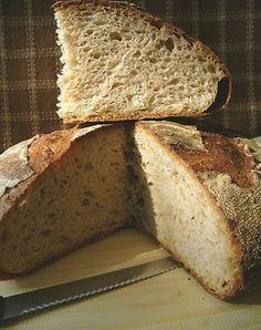 Домашний #хлеб без дрожжей  (это более #здоровое #питание)