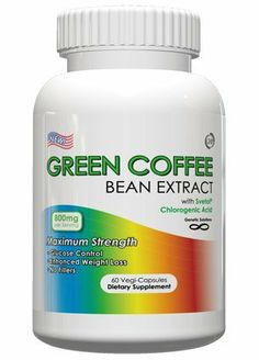 Green Coffee Bean Extract With Svetol – Per Serving, 60 Vegetarian Capsules, No Fillers, Chlorogenic Acids, 1 Month Supply (Contains Svetol) Green Coffee Bean Extract, Belly Fat Burner, Super Greens, Nutritional Supplements, Diet Supplements, Sports Nutrition, Coffee Beans, How To Lose Weight Fast, Vegetarian