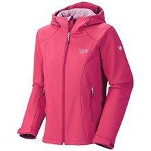 Mountain Hardwear Principia Soft Shell Jacket (For Women) in Sangria - Closeouts