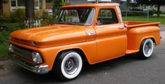 Custom 1965 Chevy Step-Side Pickup