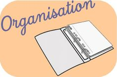 Sans fichier: mon organisation - Dans ma trousse, il y a...