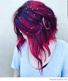 Check Out Our , Galaxy Hair too Cool Blue Purple and Green Dyed Hair, Pin by Jenna Harbaugh Cordell On Hair Color In Galaxy Hair by Ursula Goff & Stuff Home. Hair Dye Colors, Cool Hair Color, Crazy Hair Colour, Trendy Hair Colors, Hair Goals Color, Creative Hair Color, Hair Inspo, Hair Inspiration, Coloured Hair