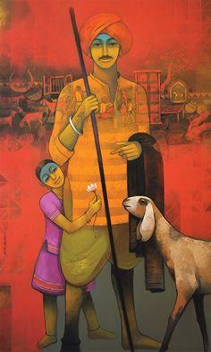 Fatherly Love by Sachin Akelekar