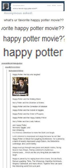 Happy Potter is Happy