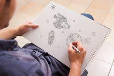 Goodies - Le coloriage de la collection Noé - #coloriage #enfantin #papier www.Iconova.fr