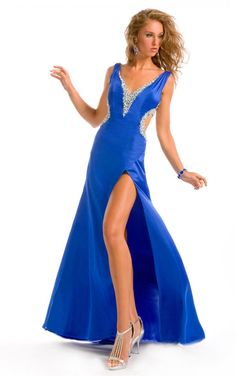 bridesmaid dresses in royal blue shoes
