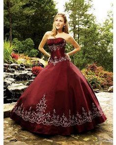 Vestidos De 15 Rojo Y Negro
