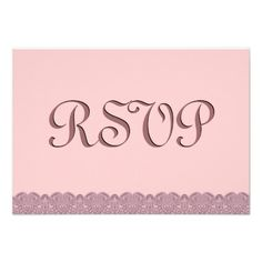 #Taupe #Pink #Lace #RSVP #Wedding #Response #Invitations http://www.zazzle.com/taupe_and_pink_lace_rsvp_wedding_response_v014_invitation-161325075664393385