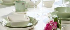 Iittala Teema Utensils, Panna Cotta, Tableware, Ethnic Recipes, Food, Dulce De Leche, Dinnerware, Flatware, Tablewares