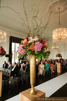 Glamorous Ballroom Philadelphia Wedding from Philip Gabriel Photography. To see more: http://www.modwedding.com/2014/08/27/glamorous-ballroom-philadelphia-wedding-philip-gabriel-photography/ #wedding #weddings #ceremony