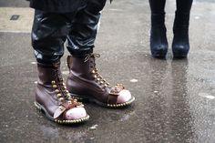 J. W. Anderson caravan boots