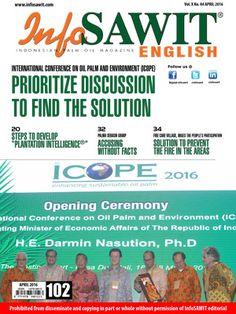 Indonesian Palm Oil | InfoSAWIT Store Official Website | Magz April 2016