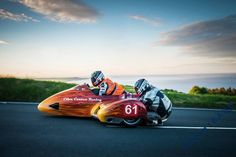 Sidecar at the Isle Of Man TT