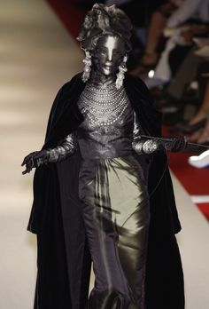 Omahyra, Jean Paul Gaultier Fall 2002 Haute Couture