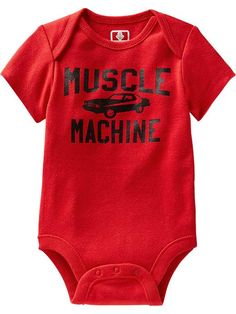 Humor-Graphic Bodysuits for Baby Product Image