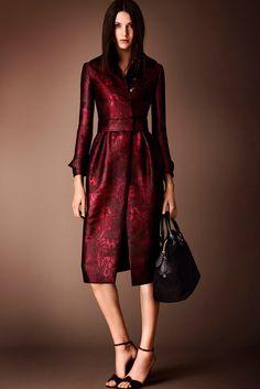 Burberry Prorsum Pre-Fall 2014 Fashion Show Collection