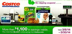 Costco Coupons March 6 - March 30, 2014 – Queen Bee Coupons & Savings
