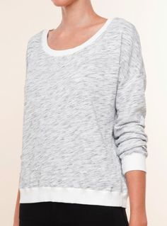 Go for a casual off duty look with this Splendid space dye active top