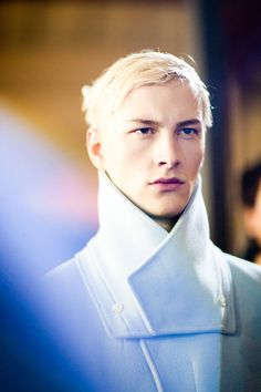 Kenzo AW13 backstage ph by Melodie Jeng (x)