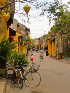 Hoi An - Vietnam. Streets.