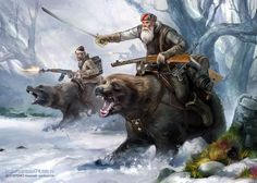 Cossack Bear Patrol. You may now shit yourself.